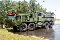 military fire trucks | Otis Army TFFT