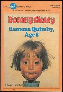 Ramona books --- Beverly Cleary LOVE. LOVE.