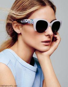Olivia Palermo for MAX&Co. spring/summer 2015 eyewear. #oliviapalermo