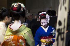 During the Kanki Jinja. Japanresor CC BY-SA Maiko Fukuharu and Ryouka :)