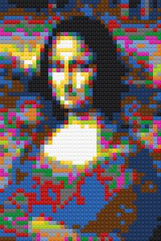 Mona Lisa Sample | Just took a shot of the computer screen w… | Flickr