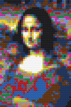 Mona Lisa Sample ::: pinterest.com christiancross :::