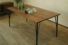 ダイニングテーブル会議テーブル会議用テーブル北欧家具無垢ウォールナットオークブラックチェリー120130140150160170180アンティークアイアンカンディハウスイームズカッシーナアウトレット好きに日本製大川家具/S1