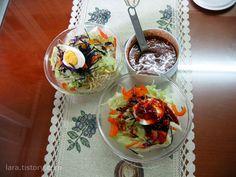콩나물이 들어간 비빔국수 :: 4월의라라 | 맛난 요리, 건강한 집밥