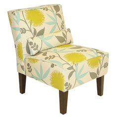 Polly Accent Chair in Aegean from the Skyline event at Joss and Main!
