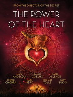 Power of the Heart DVD--Featuring some of the most inspiring and influential icons of our age including Paolo Coelho, Maya Angelou, Deepak Chopra, Isabel Allende and Eckhart Tolle, The Power of the Heart–which ties into a book of the same name–presents fascinating evidence that your heart is much more than physical organ…and that it can actually transform your views of money, health, relationships and success.