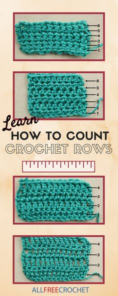 to Count Crochet Rows Everything you need to know about counting crochet rows is on this NEW page!Everything you need to know about counting crochet rows is on this NEW page! Crochet Chain, Crochet Diy, Quick Crochet, All Free Crochet, Learn To Crochet, Crochet Crafts, Double Crochet, Diy Crafts, Beginner Crochet Projects
