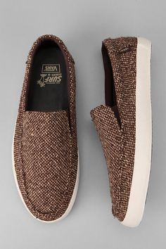 The most epic Fall slip-on. #urbanoutfitters #ecofriendly #vans