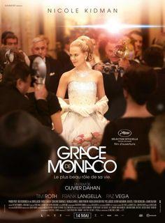 Jaquette de Grace de Monaco (2014) - L'histoire de la crise de mariage et identitaire de l'ancienne star d'Hollywood, Grace Kelly, devenue princesse de Monaco sur fond de crise politique dans les années 60. - French Popcorn