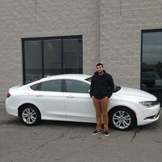 """Great working with you Marcos. Congratulations on you new Chrysler 200! Thanks for making the 2 hr drive for our Complimentary Lifetime Warranty. """"MJ"""""""