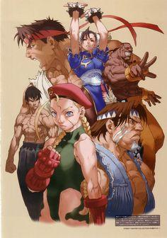 Street+Fighter+II+Cammy+Fei+Long+Dee+Jay+T+Hawk+Ryu+Chun+Li.jpg (738×1053)