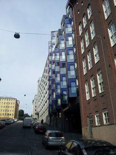 Lintulahdenkatu 6, Sörnäinen, Helsinki. Helsinki, Hoods, Multi Story Building, Cowls, Cooker Hoods, Food