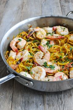 Paleo Shrimp Scampi from Fed and Fit #21DSD #shrimp