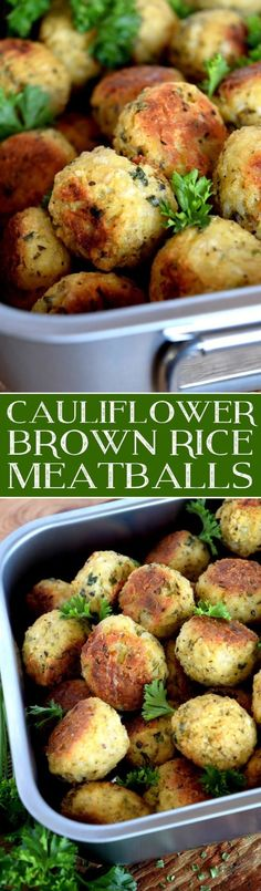 cauliflower-brown-rice-meatballs