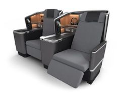 Scandinavian Airlines' new long-haul Business Class seats