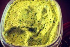 Spinach and Artichoke Hummus | VegWeb.com   Need to buy or make tahini.