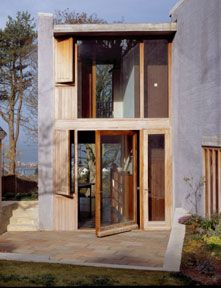 "finn-wilkie: ""O'Donnell & Tuomey, Howth House, Dublin, 2003 www. Architecture Ireland, Architecture Details, Interior Architecture, Grand Designs Magazine, Build My Own House, Wooden Facade, Design Your Own Home, Long Walls, O Donnell"