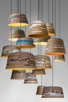 35例惊人的再生灯具设计 生活圈 展示 ...