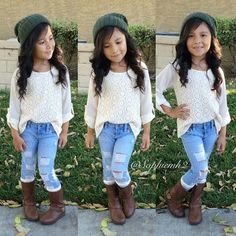 Cute little girls outfit mahi fashion kids fashion, little g Fashion Kids, Little Girl Fashion, Toddler Fashion, Fall Fashion, Little Fashionista, Outfits Niños, Fall Outfits, Fall Toddler Outfits, Fashion Outfits