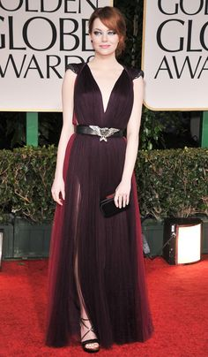 Lanvin dress and Cartier clutch - The 69th Annual Golden Globe AwardsJanuary 15, 2012