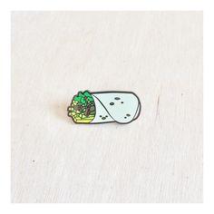 "The Original ""California Burrito"" Pin"