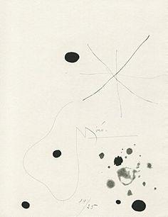 """Héraclite d'Éphèse"" Joan Miró, 1965. Catalonia | Europe"