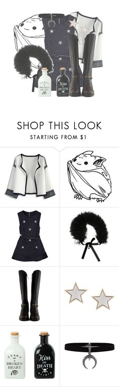 """""""Sleep Tight"""" by bubbythenarwhal ❤ liked on Polyvore featuring Chicwish, Valentino, Proenza Schouler and Givenchy"""