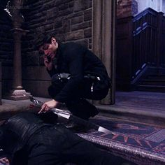 """""""Alec + his bow, and seraph blade is my new aesthetic. """""""