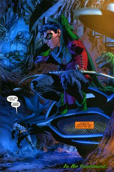 Dick Grayson.<<<<idk who put this but this is Damian Wayne.....dick Grayson comics dont look nearly as good