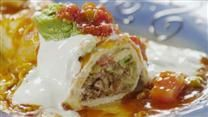 Fabulous Wet Burritos. Oh my goodness! These are excellent! Super easy and yum!