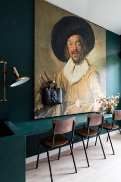 Goud in je interieur - Maison Belle - Interieuradvies en woonblog  Foto: Histor #quietclearing #interieurtrends2019 #groen #green #goud #gold #interior #interieurblog #woonblog