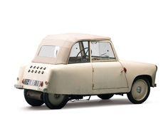 Mochet CM-125Y Berline (1956) - Cars in studio