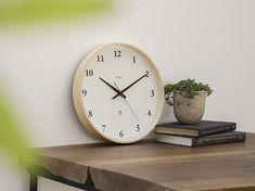 Lemnos/電波時計 Plywood clock ナチュラル 大 - 掛け時計 - 通販カタログ - スタイルストア