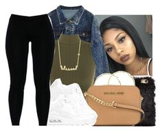 """""""Winter lookbook❄️✨"""" by eazybreezy305 on Polyvore featuring WearAll, NOVA, Melissa Odabash, MICHAEL Michael Kors, NIKE, Sydney Evan, Winter, 2016 and winterstyle"""