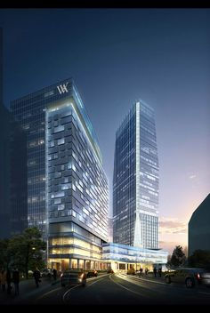 Waldorf Astoria Hotel at Mega Kuningan CBD, South Jakarta / Mixed-use Commercial & Residential Development / 185,338 M² / Under Construction