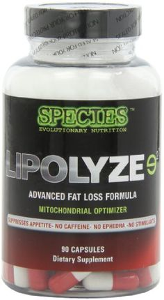 Species Nutrition Lipolyze Evolved, 90 Capsules. Lipolyze Evolved can be best categorized as a caloric wasting compound. As cortisol levels rise in the body, lean muscle tissue is broken down, immune system function is suppressed and dangerous abdominal belly fat deposition is increased. Whereas most fat burning formulations on today's market depend on stimulants such as ephedra (rarely seen today), caffeine, and synephrine at SPECIES, we reject the premise that the only effective...