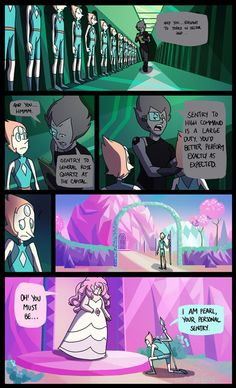 Lynx's Scribbles and Art | Soooo, about that theory that pearls are...