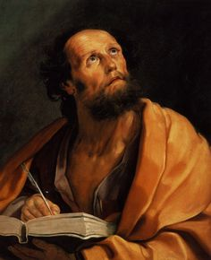 Catholic Art, Catholic Saints, Religious Art, Luke The Evangelist, Gospel Of Luke, Baroque Painting, Renaissance Men, Bible Art, Saints