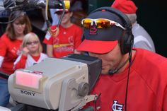 And Waino is also a cameraman!