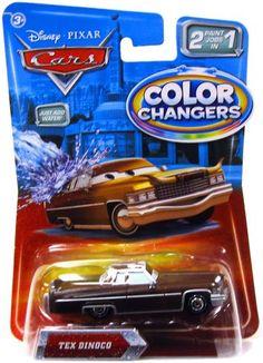 Disney / Pixar CARS Movie 155 Cars Color Changers Tex Dinoco Disney http://www.amazon.com/dp/B0036S6RTG/ref=cm_sw_r_pi_dp_K70Swb0KQE13K