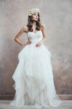 Amber wedding dress, 2014 Collection, Divine Atelier Wedding Dresses 2014, Wedding Gowns, Divine Atelier, One Shoulder Wedding Dress, Amber, Bridal, Collection, Mai, Future