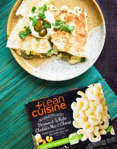 White Cheddar Mac 'n' Cheese Quesadilla