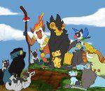 omg! Pokemon Lion King!!!