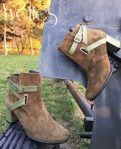 Ghete din piele naturala interior/exterior. Peep Toe, Booty, Interior, Shoes, Fashion, Moda, Swag, Zapatos, Indoor