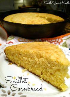 Skillet Cornbread (and the secret to great cornbread)