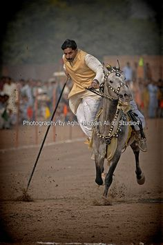 Tent Pegging Pakistan | Tent pegging at Rajooa Sadat Faisal Abad, Pakistan | Flickr - Photo ...
