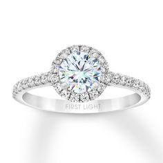 White Gold Rings, White Gold Diamonds, Round Diamonds, Diamond Promise Rings, Leo Diamond, Dream Engagement Rings, Engagement Rings White Gold, Thing 1, Gold Diamond Wedding Band