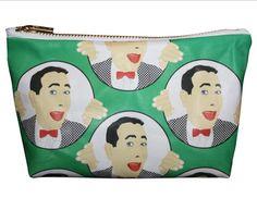 PEE WEE HERMAN makeup bag lil' purse... original by kayciwheatley