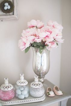 Shabby Chic Decor in the Nursery