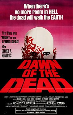 Dawn of the Dead (1978) Original One-Sheet Movie Poster